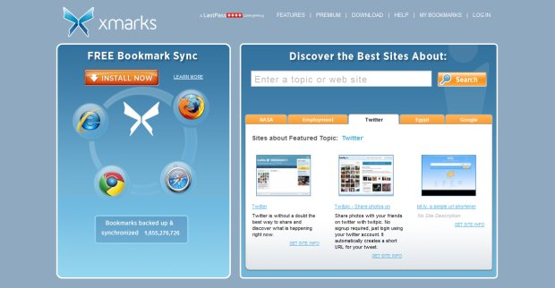 Use Xmarks to Sync Your Bookmarks Across Browsers  Waiving Entropy