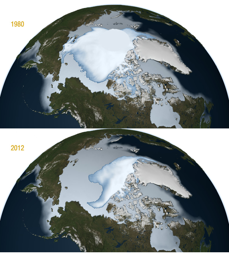 sea ice comparison